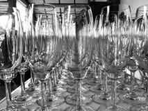 Immagine astratta di un vetro di vino Fotografie Stock