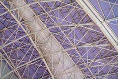 Immagine astratta di una parte della struttura di tetto futuristica Fotografia Stock Libera da Diritti