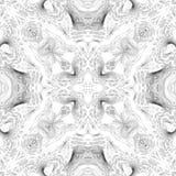 Immagine bianca o d'argento geometrica di lusso scintillante illustrazione vettoriale