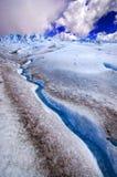 Immagine catturata in Perito Moreno Glacier nella Patagonia (Argentin immagine stock libera da diritti