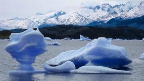 Immagine catturata in Perito Moreno Glacier nella Patagonia (Argentin fotografia stock libera da diritti