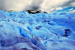 Immagine catturata in Perito Moreno Glacier nella Patagonia (Argentin fotografie stock libere da diritti