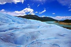 Immagine catturata in Perito Moreno Glacier nella Patagonia (Argentin immagini stock