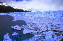 Immagine catturata in Perito Moreno Glacier nella Patagonia (Argentin immagini stock libere da diritti