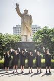 Immagine cinese 4 di graduazione dell'istituto universitario Fotografia Stock