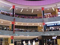 Immagine classica del centro commerciale Fotografia Stock Libera da Diritti