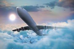 Immagine composita 3d dell'aeroplano grafico Fotografia Stock