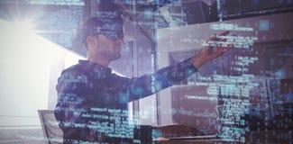 Immagine composita 3d dell'immagine dei dati Immagini Stock Libere da Diritti