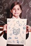 Immagine composita degli scarabocchi di istruzione Fotografia Stock Libera da Diritti
