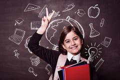 Immagine composita degli scarabocchi di istruzione Immagini Stock