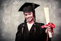 Immagine composita degli scarabocchi di istruzione Fotografie Stock