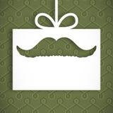 Immagine composita dei baffi digitalmente generati royalty illustrazione gratis