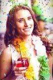 Immagine composita dei colori di volo 3d Fotografie Stock