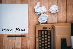 Immagine composita del papà di merci di parola Fotografia Stock Libera da Diritti