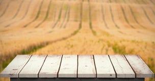 Immagine composita del pavimento di legno Immagine Stock Libera da Diritti