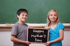 Immagine composita del saluto di giorno di madri Fotografie Stock