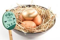 Immagine composita del segno di caccia dell'uovo di Pasqua Immagine Stock Libera da Diritti