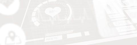 Immagine composita dell'illustrazione umana di forma fisica su fondo nero 3d Fotografie Stock Libere da Diritti
