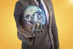 Immagine composita dell'immagine di terra 3d Immagini Stock Libere da Diritti