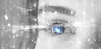 Immagine composita dell'immagine digitalmente generata del modello astratto Immagini Stock