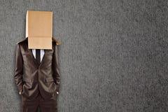 Immagine composita dell'uomo d'affari anonimo con le mani in tasche Fotografie Stock