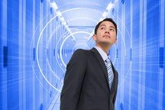 Immagine composita dell'uomo d'affari asiatico Fotografie Stock