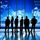 Immagine composita della gente di affari Immagini Stock Libere da Diritti