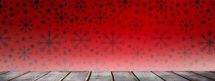 Immagine composita delle plance di legno grige digitalmente generate royalty illustrazione gratis