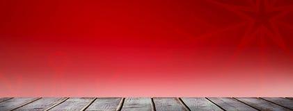 Immagine composita delle plance di legno grige digitalmente generate illustrazione di stock