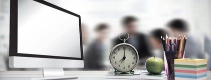 Immagine composita dello schermo di computer Fotografie Stock Libere da Diritti