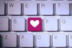Immagine composita di cuore Fotografia Stock
