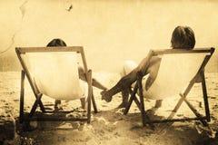 Immagine composita di fondo grigio Fotografie Stock