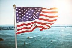 Immagine composita di noi bandiera Immagine Stock Libera da Diritti