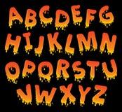Immagine con il tema 8 di alfabeto Immagine Stock