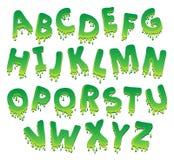 Immagine con il tema 9 di alfabeto Fotografia Stock