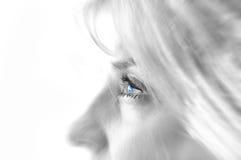 Immagine conceptial dell'occhio. Fotografia Stock