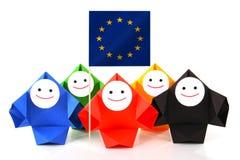 Immagine concettuale dei rapporti internazionali Immagini Stock Libere da Diritti