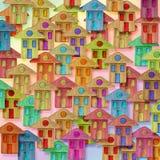 Immagine concettuale del villaggio globale Fotografie Stock Libere da Diritti