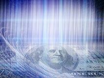 Immagine concettuale di affari di Internet del tecnology di codice binario con illustrazione vettoriale