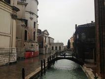 Immagine convenzionale della pelle di Venezia Fotografia Stock