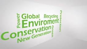 Immagine creativa del concetto verde Fotografia Stock Libera da Diritti