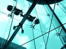 Immagine d'acciaio e di vetro della città Immagine Stock