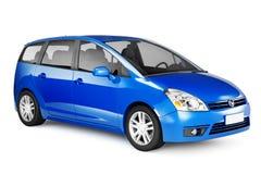 immagine 3D dell'automobile ibrida Immagine Stock