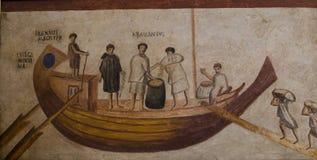 Immagine DAGLI SCAVI DI OSTIA L ANNO 1867 Fotografia Stock Libera da Diritti