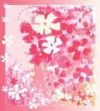 Immagine decorativa dei fiori illustrazione di stock