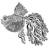 Immagine decorativa del pesce rosso Fotografia Stock Libera da Diritti