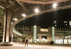 Immagine degli edifici per uffici moderni in centrale, uguagliante città Fotografie Stock Libere da Diritti