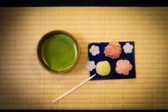 Immagine dei dolci e del giapponese fotografia stock