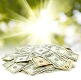 Immagine dei dollari Fotografia Stock