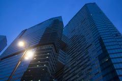 Immagine dei grattacieli a Mosca immagine stock libera da diritti